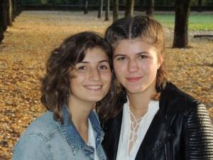 Chiara Ferrero e Pauline_800x600